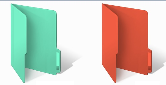 Apply Different Colors in Windows Folder With Folder Colorizer