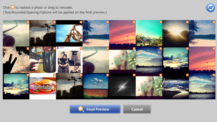 Instacover Preview