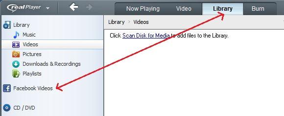 Facebook Videos Real Player