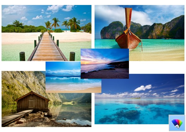Coast Paradise theme for Windows 8