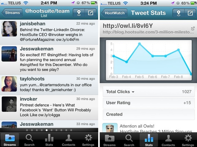 Hootsuite iPhone iPad App