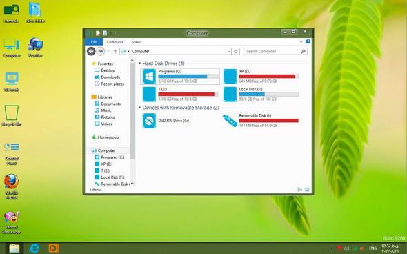 Metro Skin Pack 4.0 for Windows 8