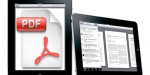 Convert PDF Files into iPad iBook With Dropbox