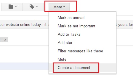 Create Document