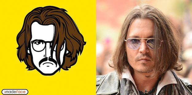 Johnny Depp Cartoon