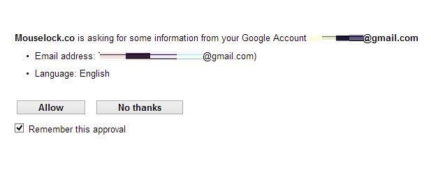 Signup With Google Account