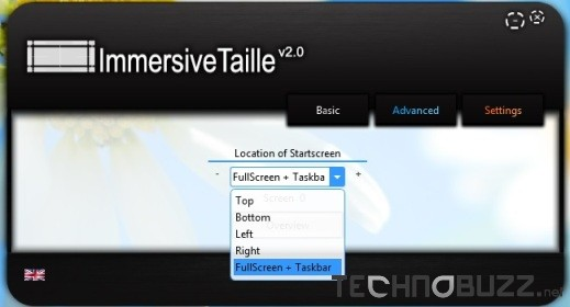 ImmersiveTaiile Basic Settings