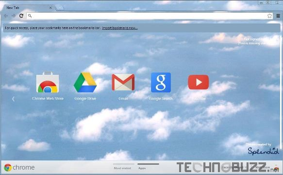 Splendid Google Chrome Theme
