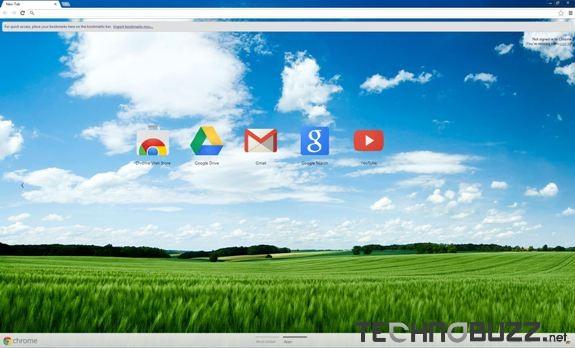 Summer Fields Google Chrome Theme