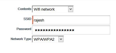 Wifi Details