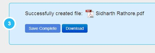 File Converted