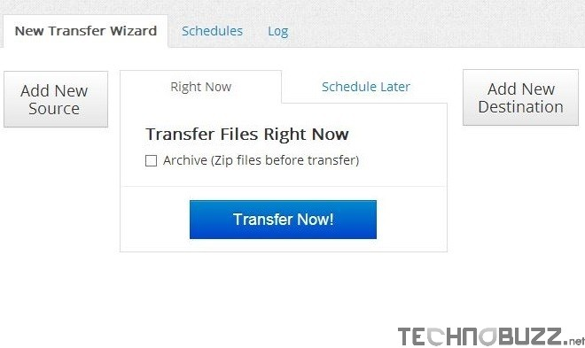 Transfer Files in Cloud