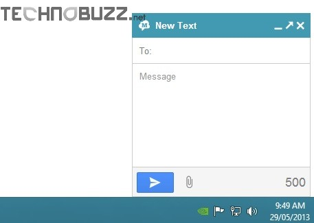 Gtext Message Window