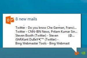 Howard Outlook Email Notifier