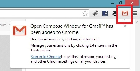 Open Compose GMail Icon