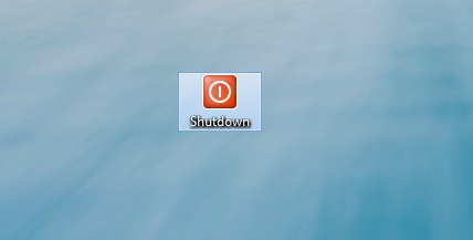 Windows 8 Shutdown Button