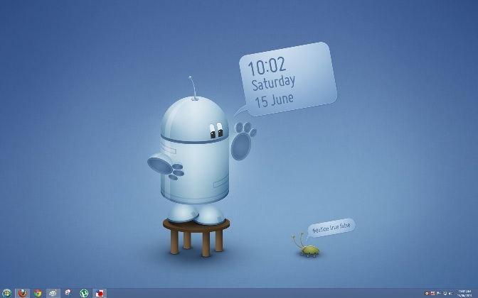 Add Animated Wallpaper Clock On Your Windows 8