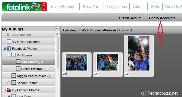 Fotolink Facebook App