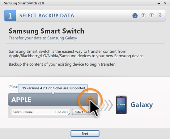 Easy Way to Transfer Content from Old Phone To Samsung Android