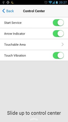 Control Center App