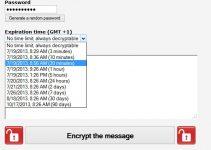 Create Encrypt Messages