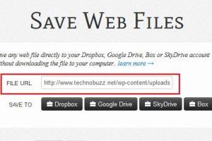 Enter Web File URL