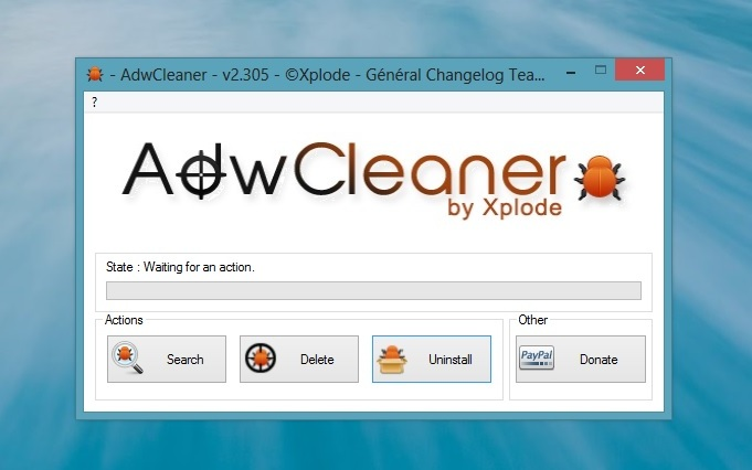 Remove Unwanted Toolbar & Malware with AdwCleaner App