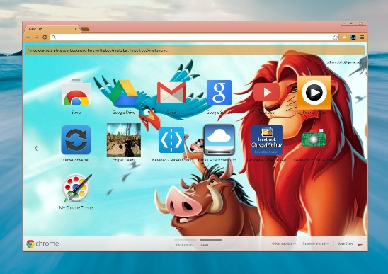 Design Your Own Customize Google Chrome Theme and Share it
