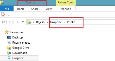 Dropbox Public Folder