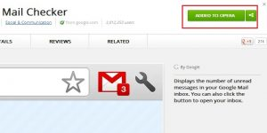 Install Chrome Addon on Opera