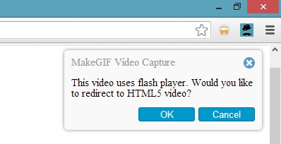 MakeGif Switch To HTML5