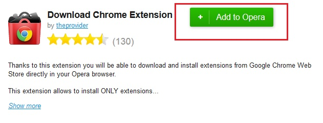 Opera Download Chrome Extension Addon