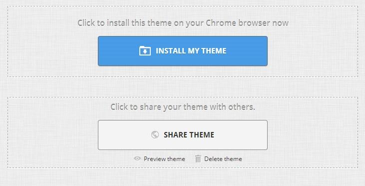 Share Your Chrome Theme
