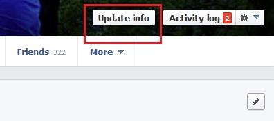Facebook Update Info