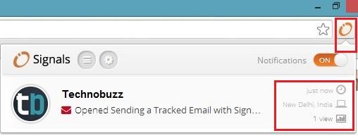 Gmail Read Notification