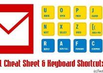 Gmail Cheat Sheet & Keyboard Shortcuts
