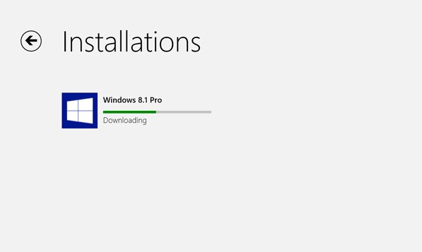 Windows 8.1 install
