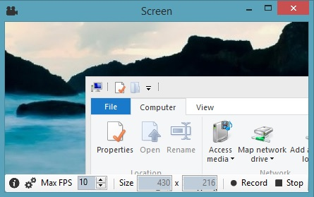 Record Windows Desktop Screen