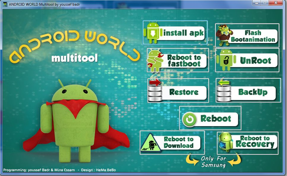 Android World Multitool