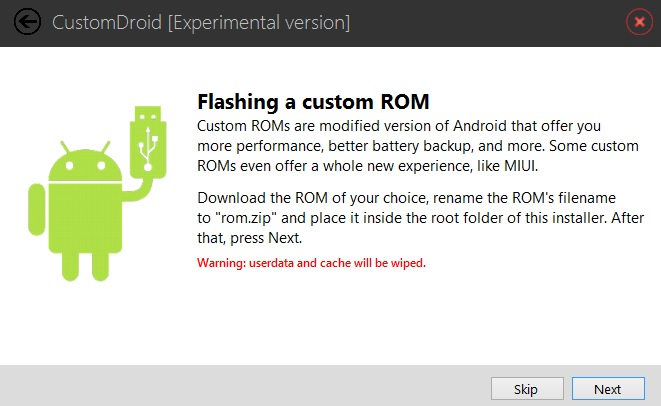 Flash Custom ROM