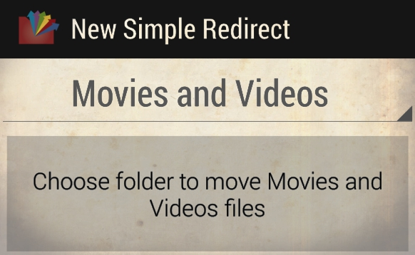 Move Android Files to Specific Folder