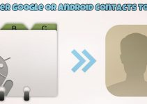 Transfer Google or Android Contacts to iPhone