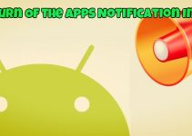 Turn Of the Apps Notification In Android