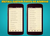 Install Custom Fonts on Android