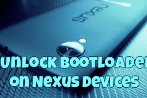 Unlock Bootloader on Nexus Devices