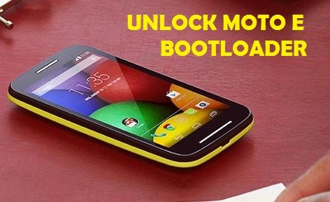 Unlock-Moto-E-Bootloader