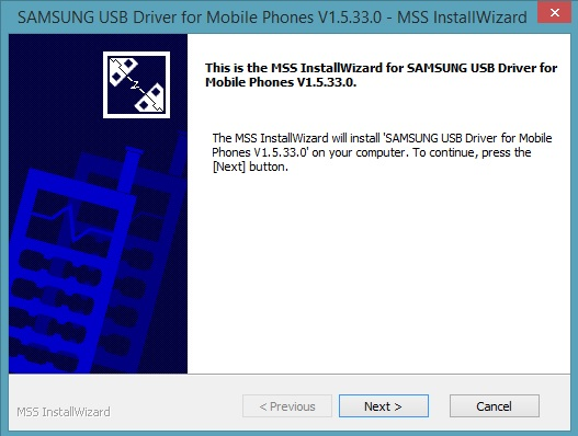 Samsung Mobile USB drivers Installer