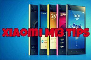 Xiaomi Mi3 Tips