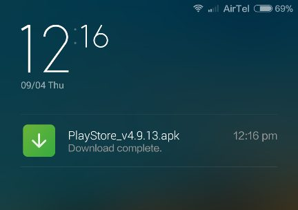 Install-Play-store