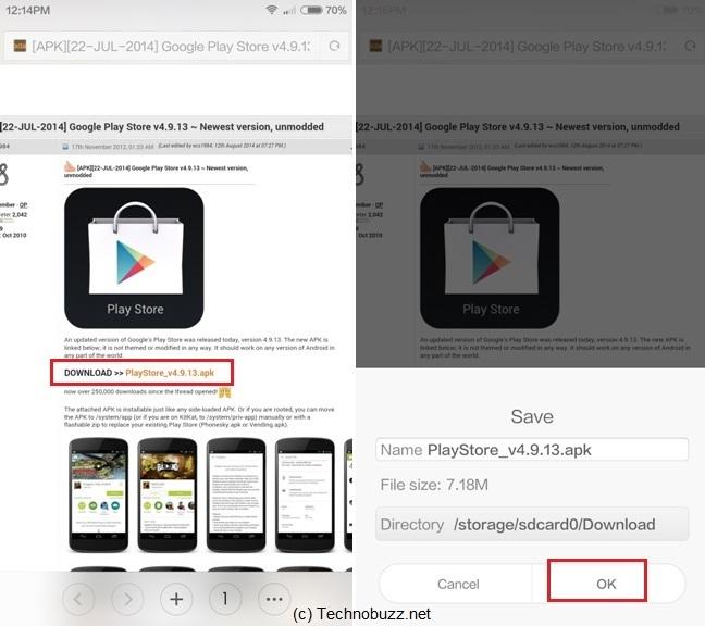 How to Manually Install Google Play Store on Xiaomi Phone, Mi3, Mi4